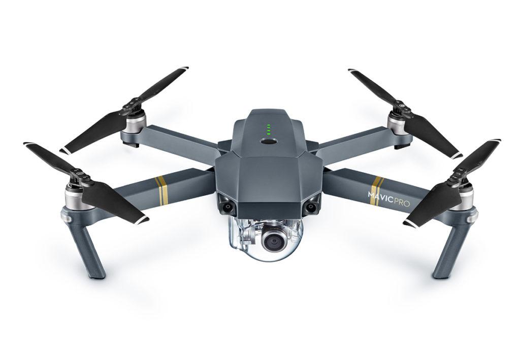 折りたたみ式小型空撮ドローン「DJI Mavic Pro」解説!スペック・機能まとめ