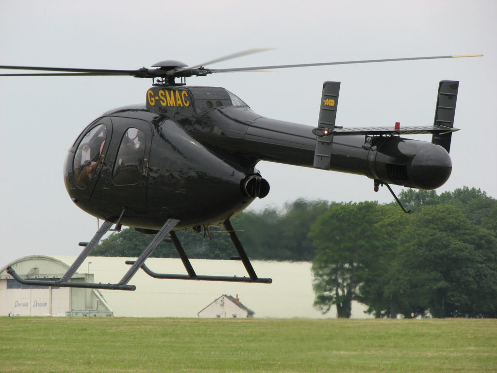 MD Helicopters 520N(ノーター)