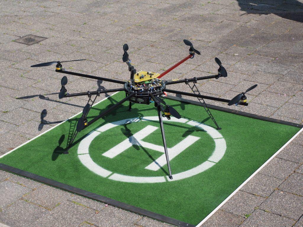 オクトコプター(octocopter)