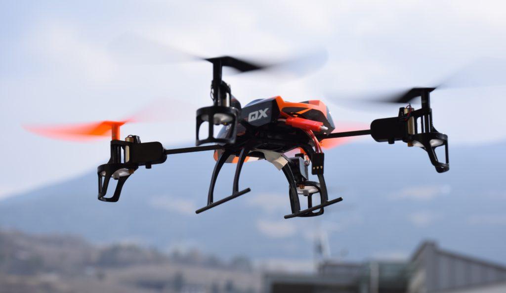 クアッドコプター(quadcopter)