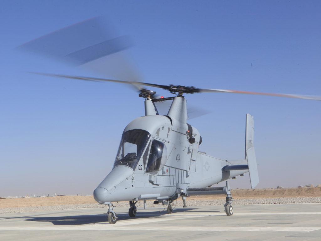 K-MAX(交差反転式ヘリコプター)